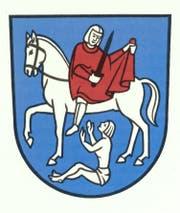 Das Wappen der Gemeinde Straubenzell. (Bild: PD)
