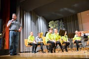 Peter Büttiker hat den Dirigentenstab abgegeben, nachdem er neun Jahre lang die Jugendmusik Tannzapfenland leitete. (Bild: Christoph Heer)