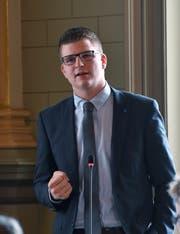 Mike Egger, Kantonsrat SVP, Berneck.