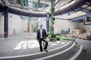 Competec-Inhaber Roland Brack muss weiter auf Grünes Licht für sein geplantes Logistikzentrum in Willisau warten. (Bild: Pius Amrein (25. August 2016)