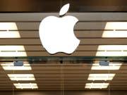 Kurz vor der Vorstellung der neuen Apple-Produkte sickern weitere geheim gehaltene Informationen durch. (Bild: KEYSTONE/AP/TONY GUTIERREZ)