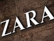 Inditex, der Mutterkonzern des Modelabels Zara, hat zugelegt: Logo aufgenommen in Zürich (Archivbild). (Bild: KEYSTONE/STEFFEN SCHMIDT)