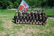 25 Marbacherinnen und Marbacher gewannen in Burgdorf den Schweizer Meistertitel in der Grossfeld-Gymnastik. (Bild: pd)