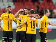 Die Young Boys werden ihre drei Heimspiele in der Champions-League-Gruppenphase vor vollen Rängen bestreiten (Bild: KEYSTONE/LAURENT GILLIERON)