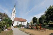 Der Friedhof bei der Kirche Scherzingen soll zur letzten Ruhestätte von allen Münsterlingern werden. (Bild: Donato Caspari)
