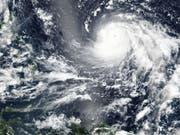 Taifun «Mangkhut» nimmt Kurs auf die Philippinen. (Bild: Keystone/EPA/NASA HANDOUT)