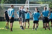 Konrad Fünfstück: «Taktik ja, aber man muss darob ja nicht gleich das Herz für den Fussball verlieren.» (Bild: Ralph Ribi (Wil, 12. September 2018))