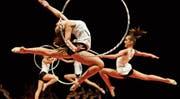 Alle fünf Jahre findet die St.Galler Turnshow statt, zum dritten Mal im Athletik-Zentrum. (Bild: Michel Canonica (26. August 2013))