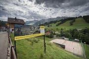 Hier soll die Überbauung mit über 200 Wohnungen entstehen. (Bild: Pius Amrein (Sörenberg, 3. August 2017))