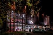 So präsentierte sich das Zentrum Gersag in Emmen am Eröffnungsabend von Le Théâtre. (Bild: Pius Amrein, 24. November 2017)