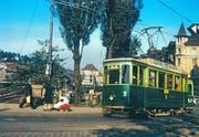 In St.Gallen gab's schon einmal ein Tram, nämlich 1897 bis 1957. (Bild: Stadtarchiv der Ortsbürgergemeinde St.Gallen)