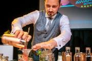 Hier bereitet Gandert seine Cocktail-Kreation zu. (Bild: PD)