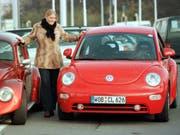 Der Absatz hatte zuletzt gelitten: VW stellt die Produktion des Käfers-Nachfolgers «New Beetle» 2019 ein. (Bild: KEYSTONE/AP/FABIAN BIMMER)