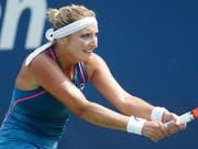 Timea Bacsinszky tankt mit ihren ersten zwei Einzel-Siegen nach 14 Monaten wieder etwas Moral (Bild: KEYSTONE/EPA/JOHN G. MABANGLO)