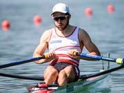 Michael Schmid befindet sich an den Weltmeisterschaften auf Kurs (Bild: KEYSTONE/ALEXANDRA WEY)