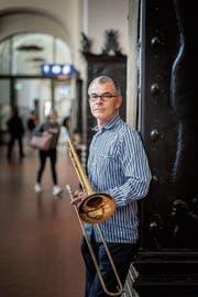 Seit 2016 ist Stefan Schlegel Leiter des Musikzentrums und präsentiert in «Musik am Bahnhof» einen bunten Konzertmix. (Bild: Michel Canonica)