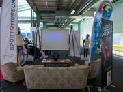 Das Schweizer Sportmuseum, das sich noch vor zwei Jahren sich an der hundertsten Muba in Basel einem breiten Publikum präsentiert hatte, ist am Ende. Am Donnerstag gab die Trägerstiftung die Schliessung bekannt. (Bild: KEYSTONE/GEORGIOS KEFALAS)
