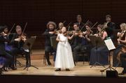Nachmittagskonzert am 2. September unter der Leitung von Daniel Dodds. Leia Zhu spielt Violine. (Bild: Peter Fischli/ Lucerne Festival)