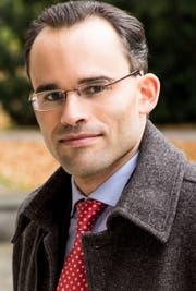 Benedikt van Spyk, Vizestaatssekretär des Kantons St.Gallen. (Bild: PD)