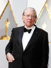 Der Schauspieler Donald Sutherland wird am Zurich Film Festival für sein Lebenswerk geehrt. (Bild: Mike Nelson/EPA)