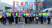Im Beisein von Regierungsrat Benedikt Würth und zahlreichen Ehrengästen wurden die Industrietage Sennwald eröffnet.