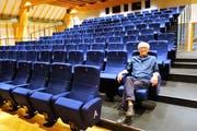 Hardy Ketterer im Kinosaal. (Bild: Eddy Schambron)