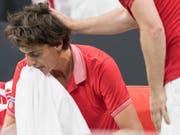 Marc-Andrea Hüsler erlitt in Biel eine schmerzhafte Niederlage (Bild: KEYSTONE/PETER SCHNEIDER)