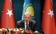 Der türkische Staatspräsident Recep Tayyip Erdogan. (Bild: Halil Sagirkaya/Getty (Ankara, 13. September 2018))