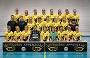 Auf das NLB-Debüt von heute folgt für das Frauenteam des UH Appenzell ein Cupspiel am Sonntag. (Bild: Bilder: PD)