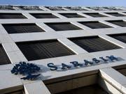 Die Bank Sarasin ist von einem deutschen Gericht zu 45 Millionen Euro Schadenersatz für den Drogerie-Unternehmer Erwin Müller verurteilt worden. (Bild: KEYSTONE/GEORGIOS KEFALAS)