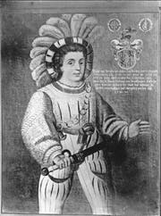 Josue von Beroldingen (1495–1563) hat das Stammschloss erbaut und war der erste der Familie, der die Fühler Richtung Thurgau ausstreckte. (Bild: Hist. Museum Altdorf)