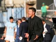 Hat derzeit mit seinem Team den Tritt noch nicht gefunden: Diego Simeone (Bild: KEYSTONE/EPA EFE/SALVADOR SAS)