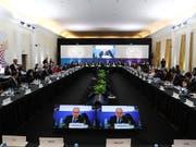 Die Handelsminister der 20 wichtigsten Industrie- und Schwellenländern trafen sich im argentinischen Mar del Plata. (Bild: KEYSTONE/EPA G20/G20 HANDOUT)