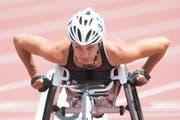 Manuela Schär gewann den Berlin Marathon in neuer Rekordzeit. (Bild: Urs Flüeler/Keystone (Nottwil, 2. Juni 2017))