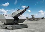 Flugabwehrsystem der Rüstungsfirma Rheinmetall. (Bild: Rheinmetall)