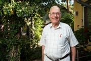 Gunter Wieden bei sich zu Hause. Bild: Rudi Renoir Appoldt (Wünsdorf, 12. September 2018)