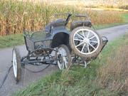 Beim Unfall mit einer Kutsche sind in Rodersdorf SO zwei Frauen verletzt worden. Eines der Zugpferde wurde nach dem Unfall eingeschläfert. (Bild: Polizei Kanton Solothurn)