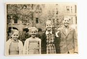Gunter Wieden und seine Geschwister im Jahr 1949. (Bild: Privatarchiv)