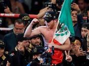 Saul Alvarez gewann überraschend den Rückkampf gegen Gennadi Golowkin (Bild: KEYSTONE/AP Las Vegas Sun/STEVE MARCUS)