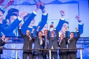 Das Siegerteams in der Kategorie Marktforschung: Team Rhomberg Schmuck. (Bild: Urs Bucher)