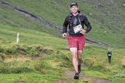 Florian Spichtig zieht dann und wann selber die Laufschuhe an, hier als Teilnehmer am «Mountainman» im Vorjahr. (Bild: PD)