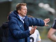 Trainer Konrad Fünfstück dirigiert Wil zum Sieg in Chiasso (Bild: KEYSTONE/EDDY RISCH)
