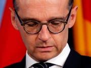 «Wir können uns nicht erlauben, wegzuschauen»: der deutsche Aussenminister Heiko Maas. (Bild: KEYSTONE/EPA/FELIPE TRUEBA)