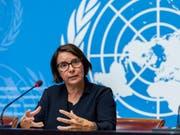 Catherine Marchi-Uhel steht einem internationalen und unabhängigen Ermittlungsgremium vor, das die Uno Ende 2016 eingerichtet hatte. Es soll Belege für Kriegsverbrechen in Syrien sammeln. (Bild: KEYSTONE/MARTIAL TREZZINI)