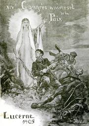 Plakat des Friedenskongresses 1905. (Bild: Stadtarchiv Luzern)
