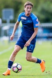 Zürich Hekuran Kryeziu während eines Testspiels zwischen dem FC Zürich und dem FC St. Gallen im Juni 2018 in Rüti. (Bild: Keystone/Christian Merz).