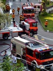 Auch für Stadtsanktgaller Polizisten und Feuerwehrleute gilt beim Wohnsitz eine Rayonpflicht. Das heisst, sie müssen in einer bestimmten Frist am Arbeitsort sein können. (Leserbild: Pia Hollenstein - Linsebühl, 24. Mai 2018)