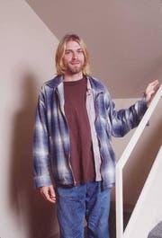Markenzeichen kariertes Flanellhemd: Nirvana-Frontman Kurt Cobain