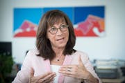 Die St.Galler Gesundheitschefin Heidi Hanselmann. (Bild: Ralph Ribi)