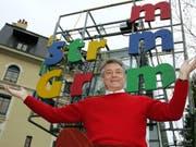 Dominique Catton ist am 23. September 2018 im Alter von 76 Jahren gestorben. Er machte sich unter anderem einen Namen als Gründer des Kinder- und Jugendtheaters Am Stram Gram in Genf. (Bild: Keystone/MARTIAL TREZZINI)